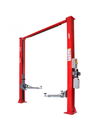 U-T40A arch type clear floor 4t capacity two post vehicle lift